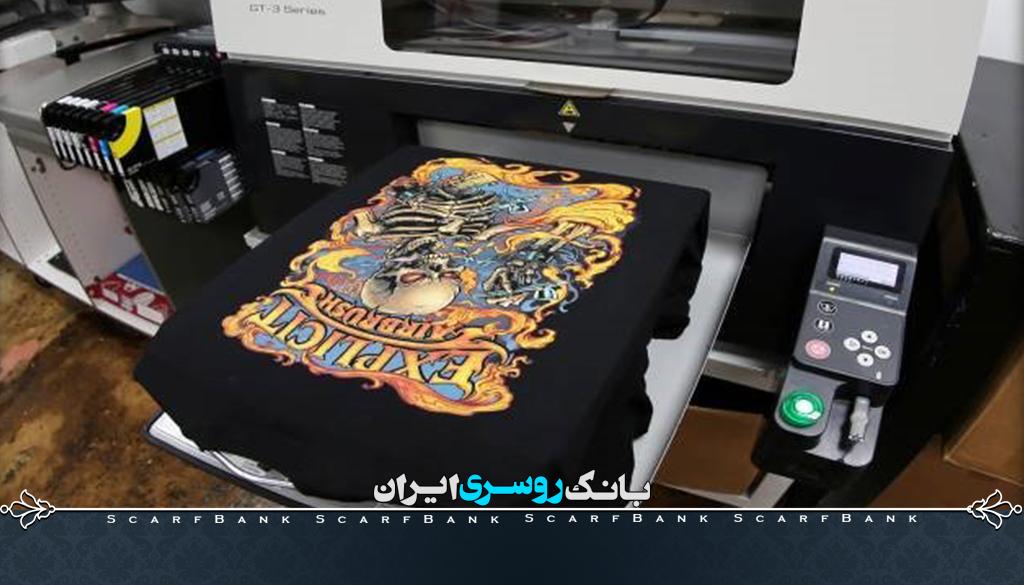 چاپ مستقیم روی تیشرت