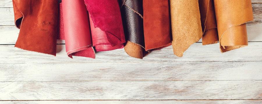 از قدیمی ترین انواع پارچه، پارچه چرمی است.