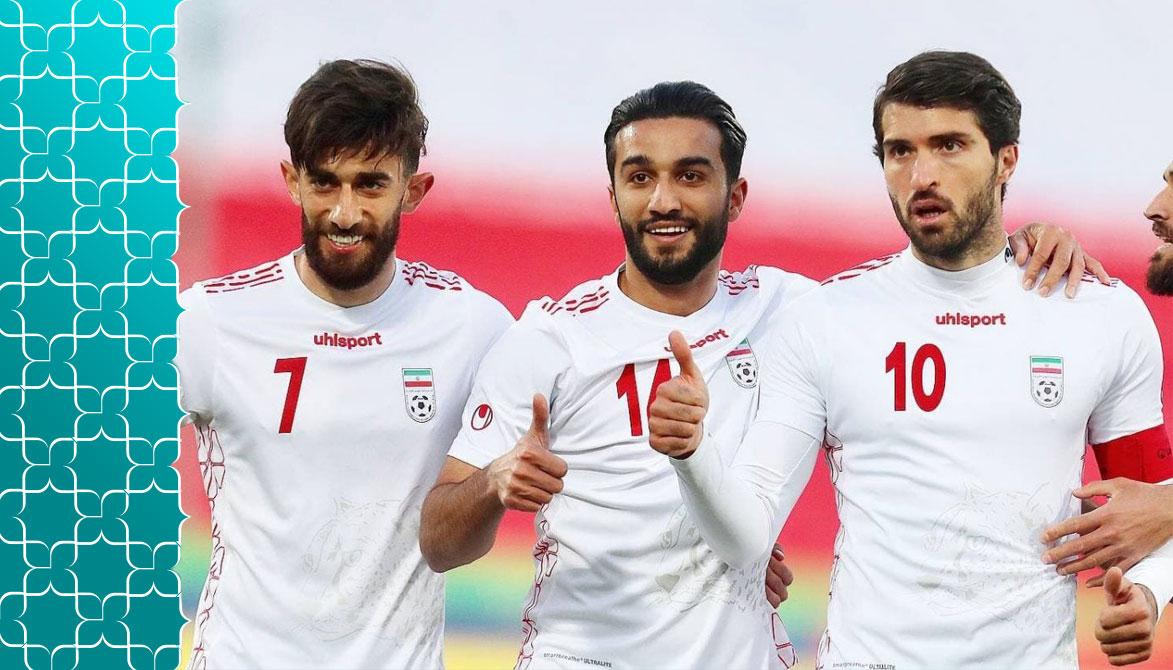 عکس لباس تیم ایران در جام جهانی 2022 قطر