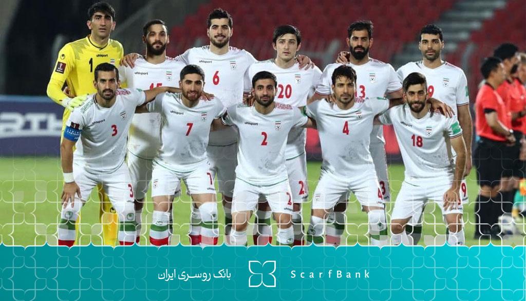 لباس تیم ملی ایران در جام جهانی قطر 2022