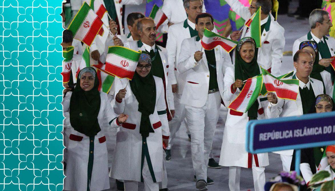 لباس کاروان ایران در المپیک توکیو