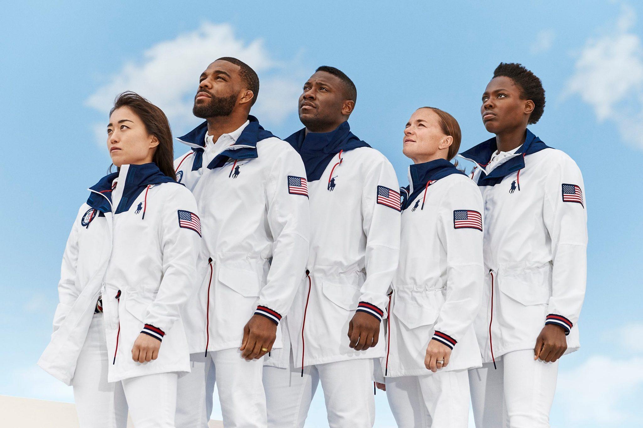لباس المپیک 2021 توکیو کاروان آمریکا
