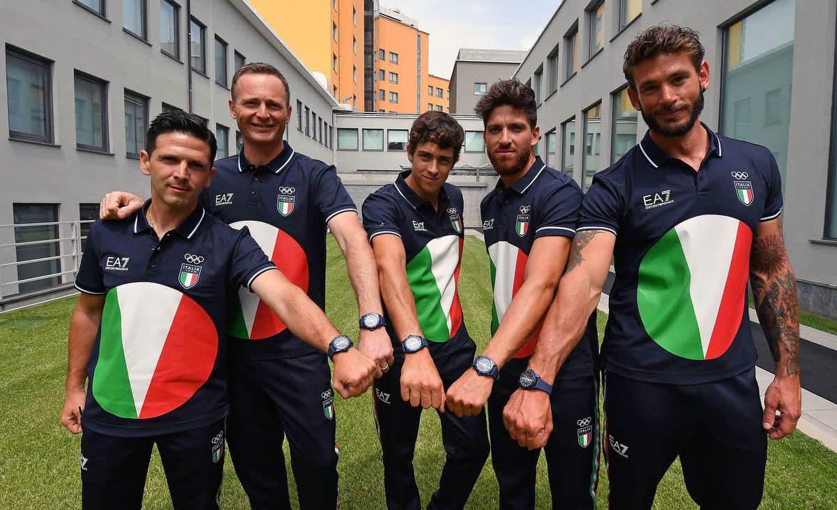 لباس المپیک 2021 توکیو کاروان ایتالیا