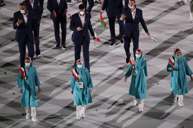نحوه انتخاب لباس المپیک ایران 2021