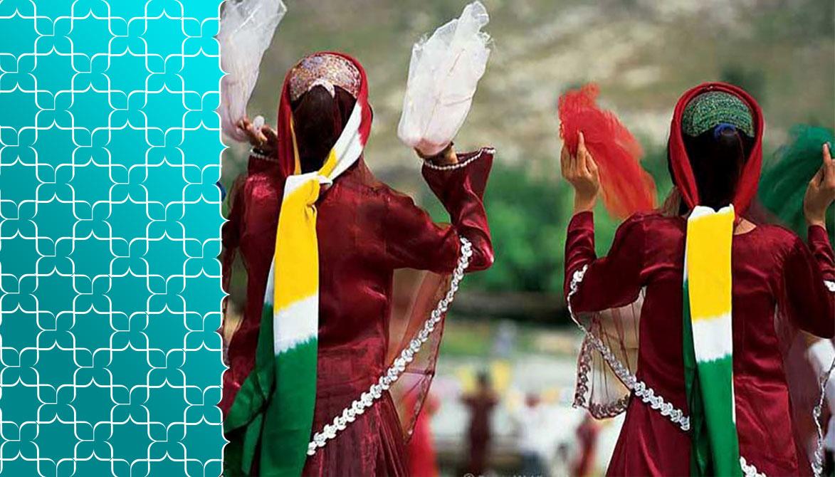 چارقد و دستمال زنان قشقایی